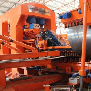 Spiral Machine Forming Pipe